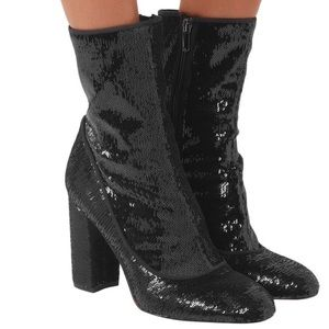 Sam Edelman Sequined ankle boots
